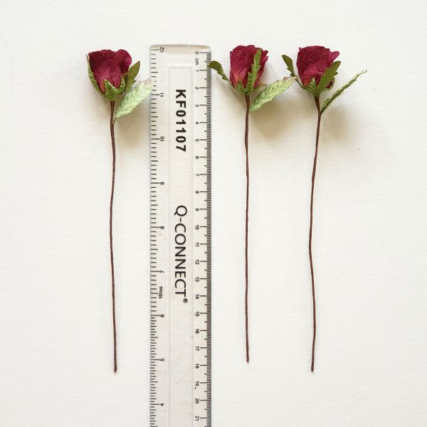 Small Red Paper Roses