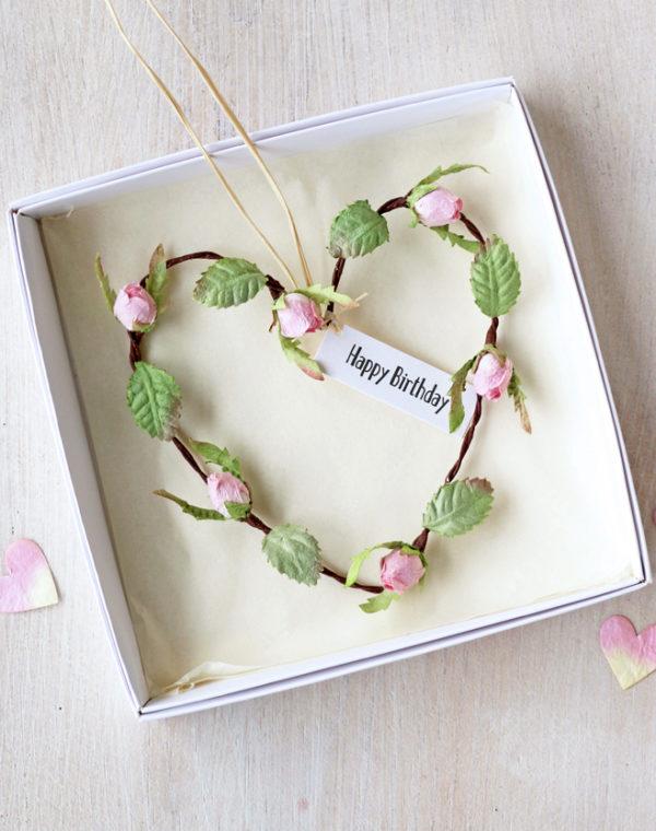 Birthday Heart Gift