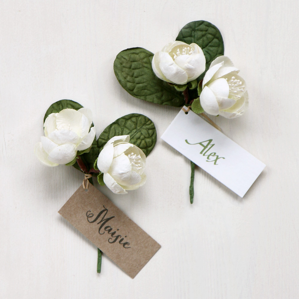 Cherry Blossom Favour, Name Place & Table Decoration