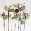 Paper roses for craft