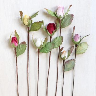 Mini Paper Rosebuds