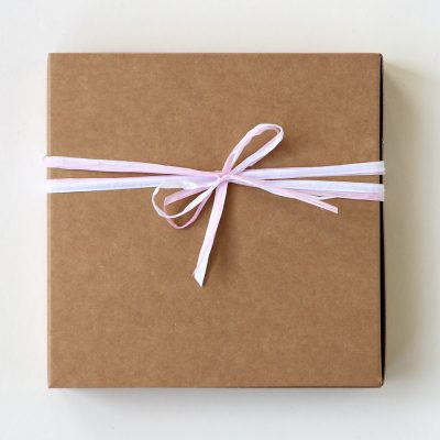 Paper Ribbon Gift Wrapping