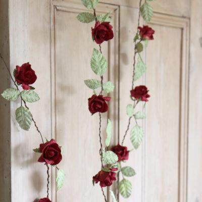 Red Rose Garland