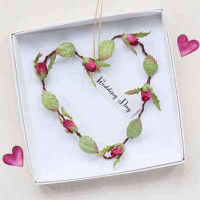 Wedding Day Gift Heart