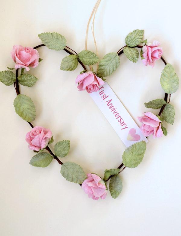 1st Anniversary Gift Pink