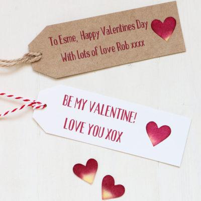 Personalised Valentine Tag