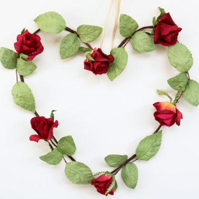 Rose Heart Decoration