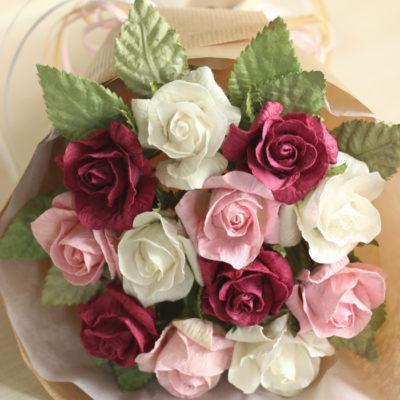 Valentines Paper Bouquet