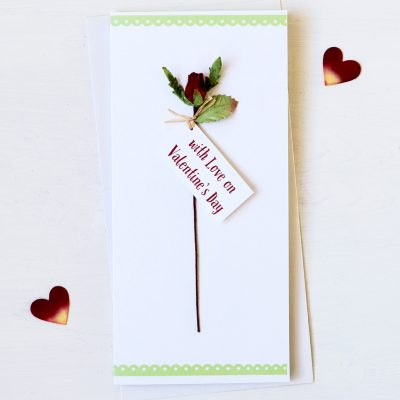 Rose Valentine Card