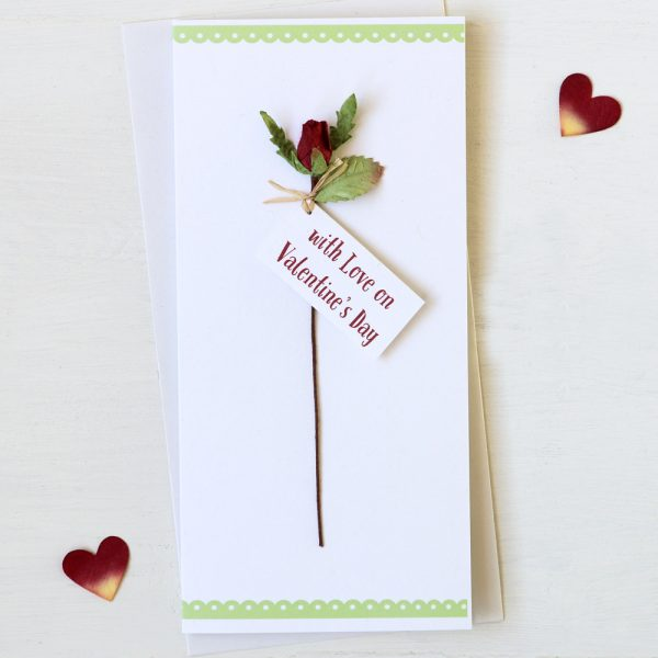 Rose Valentine Card