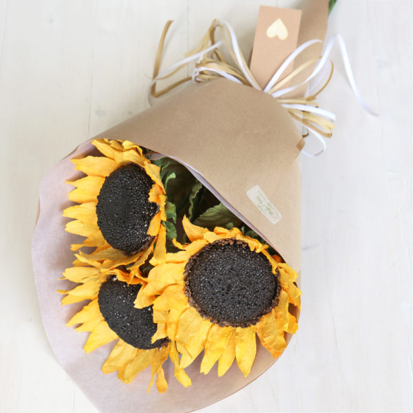 Paper Sunflower Bouquet
