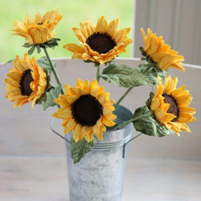 Paper Sunflowers