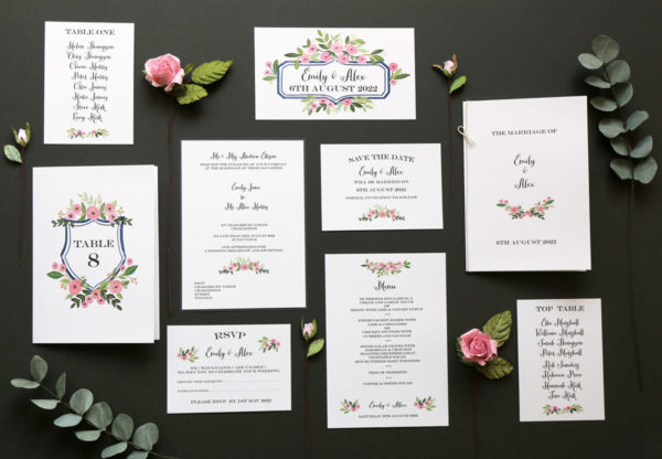 Rose Stationery