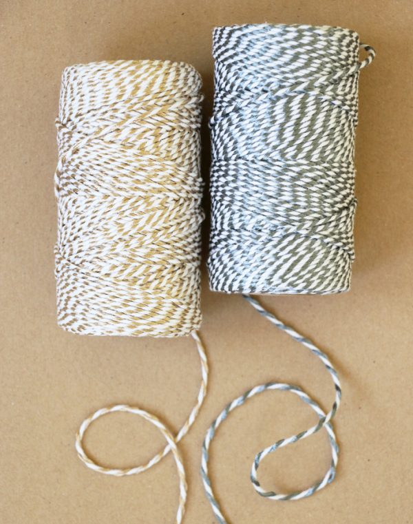 Gold Silver Twine