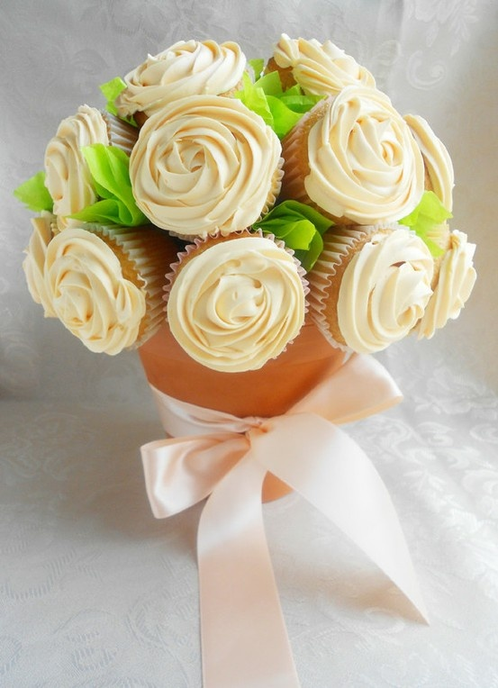 Cupcake Flowers for Mothers Day