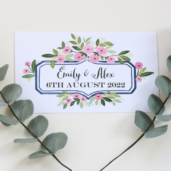 Table Plan Name Header