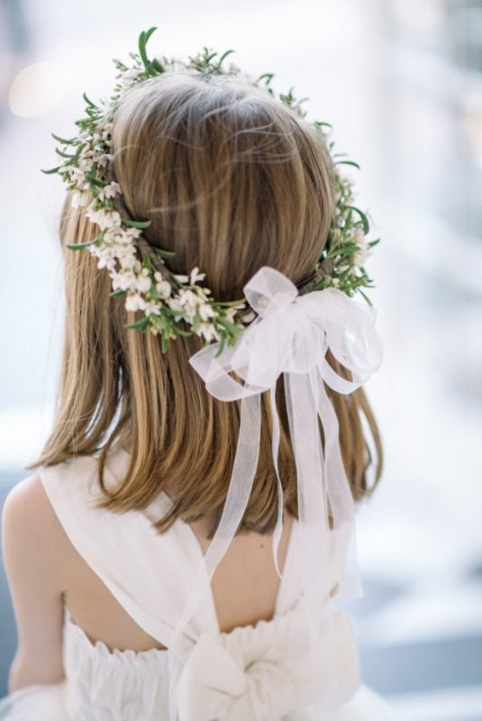 Flower Girl Crown