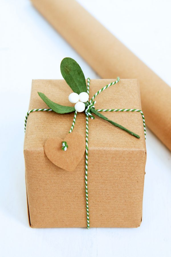 Eco Friendly Brown Wrapping Paper