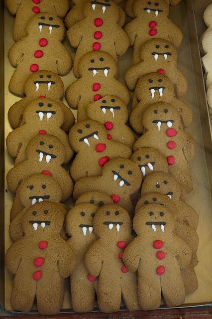 Gingerbread Vampires Halloween
