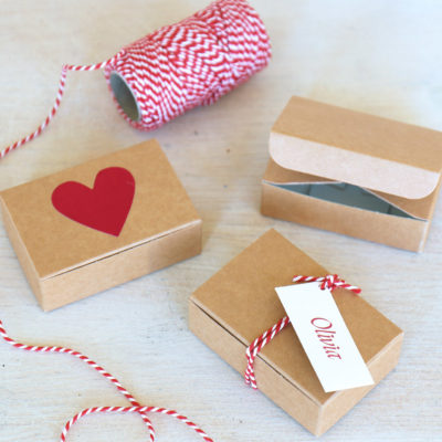 Mini Valentines Gift Box