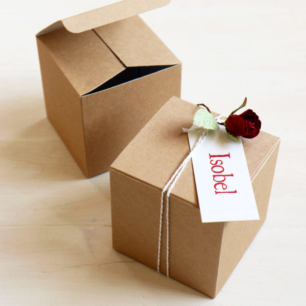 DIY Valentines Gift Box