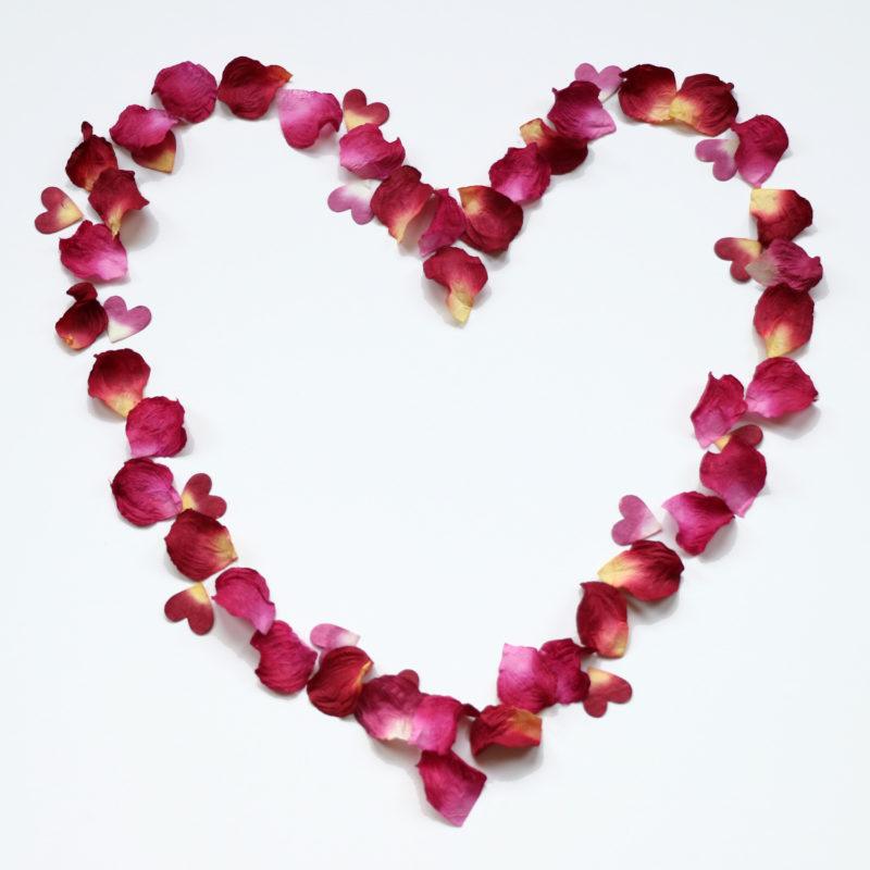 Paper Petal Heart