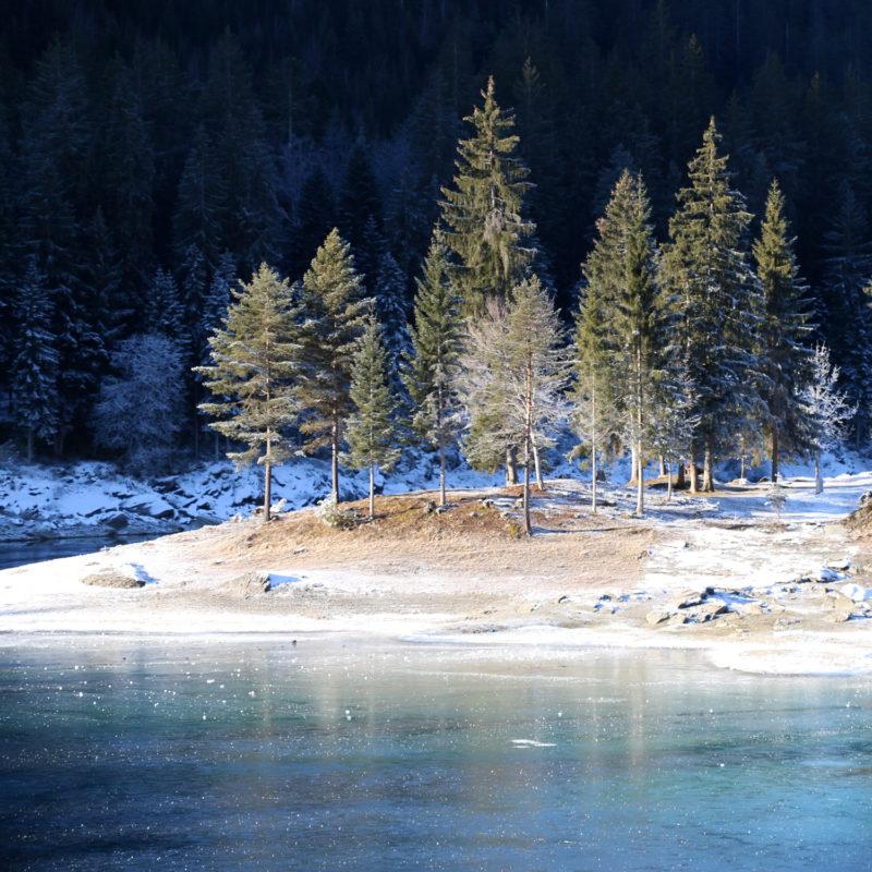 Lake Caumasee Switzerland