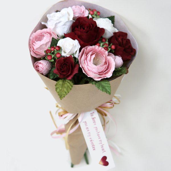 Handmade Valentine Bouquet