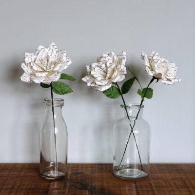 Paper Word Rose