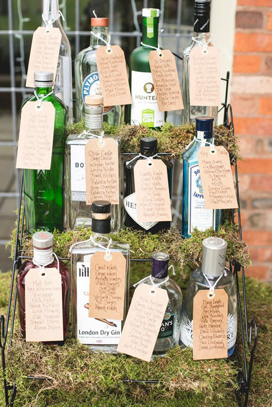 Bottle Table Plan