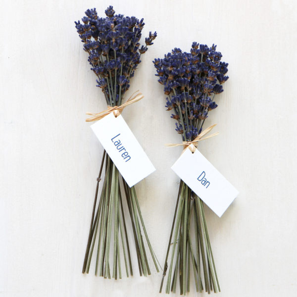 Lavender Favour
