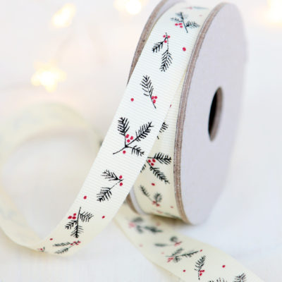 Christmas Ribbon Grosgrain