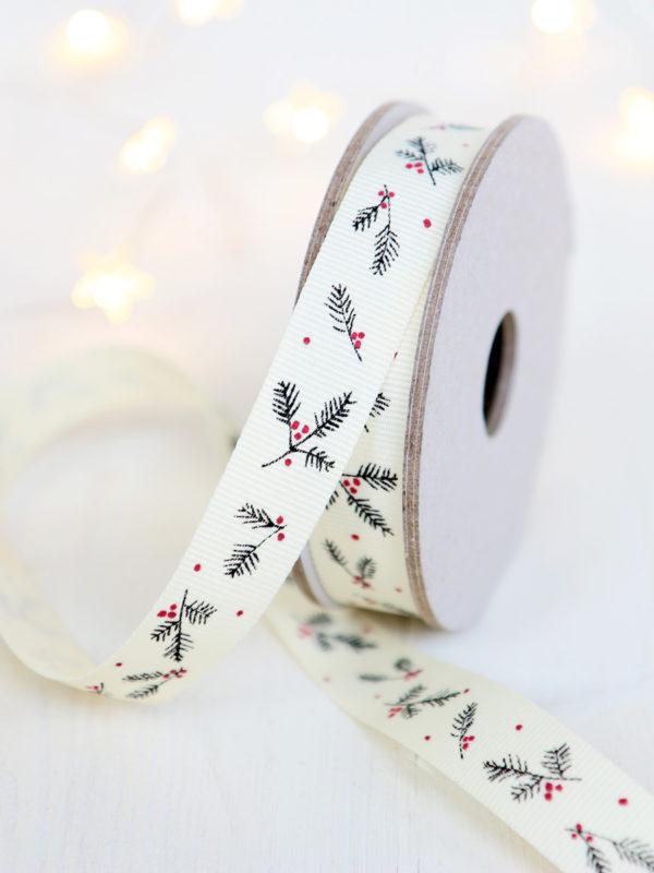 Christmas Ribbon Grosgrain