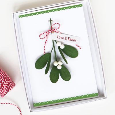 Mistletoe Boxed Gift