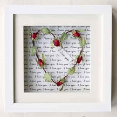 Framed Heart Gift