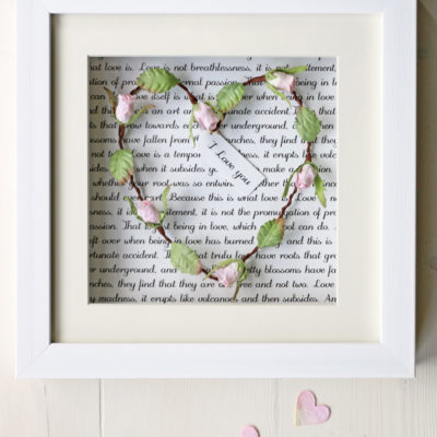 Heart Frame Personalised