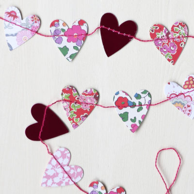 Liberty Heart Garland