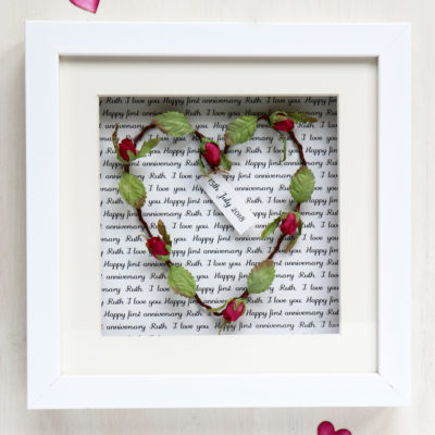 Personalised Heart Picture