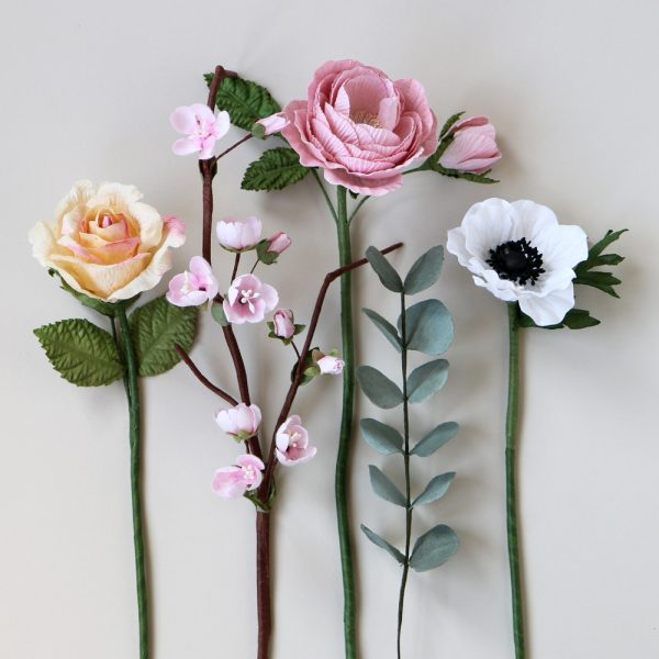 Paper Mother's Day Bouquet
