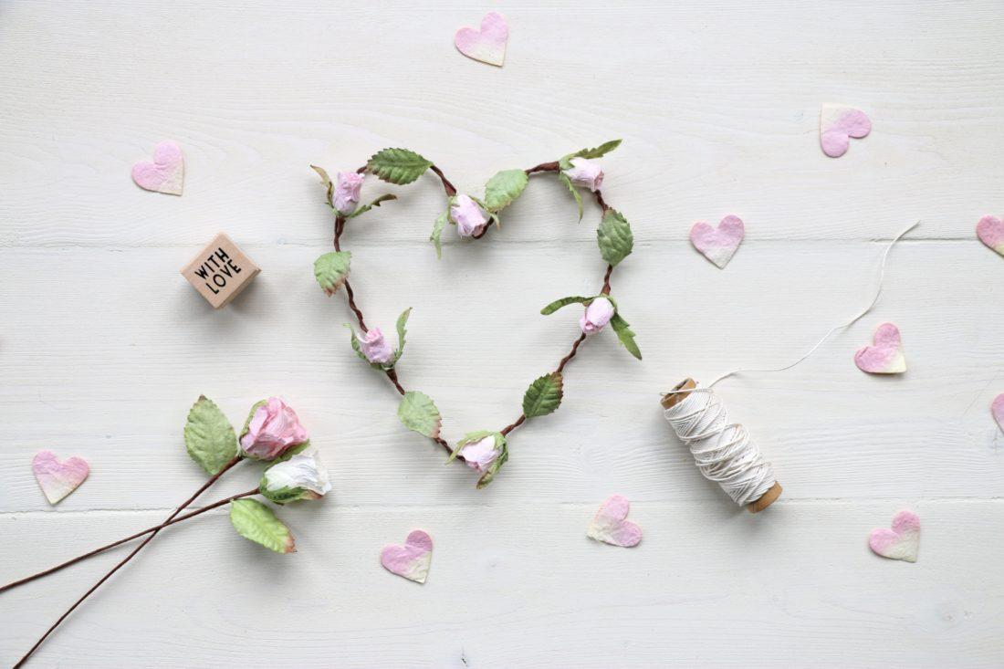 Rosebud Heart