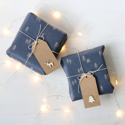 Rustic Christmas Wrapping Paper