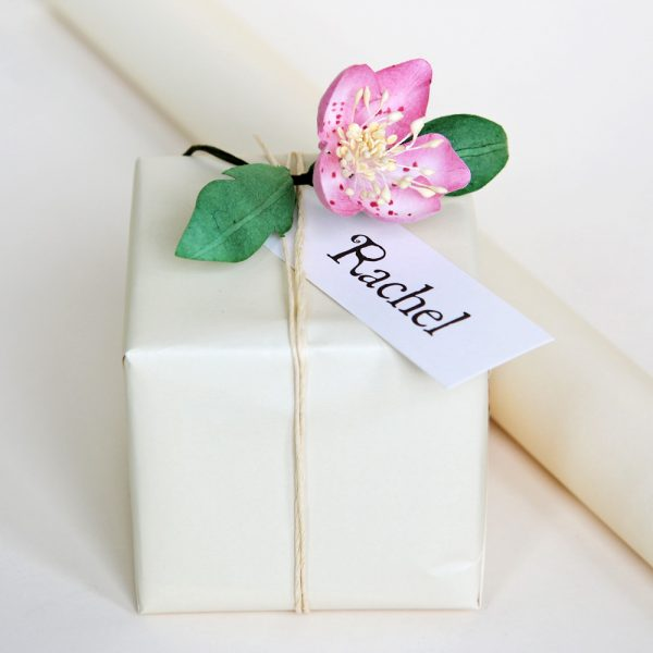 Ivory White Gift Wrapping Paper