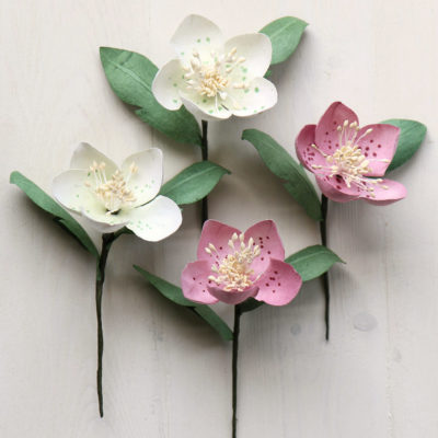 Paper Christmas Rose