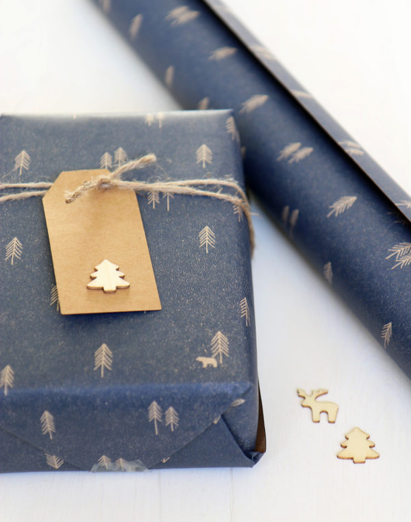Rustic Gift Wrapping Paper