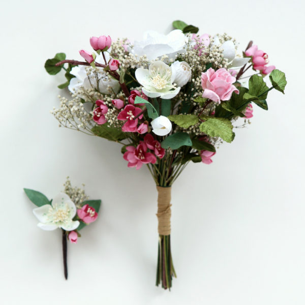 Paper Wedding Bouquet Spring