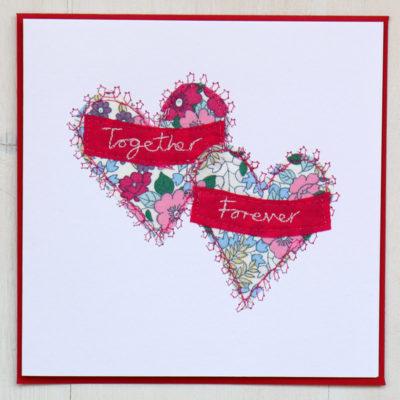 Hearts Valentine Card