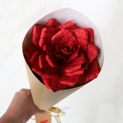 Paper Rose Red
