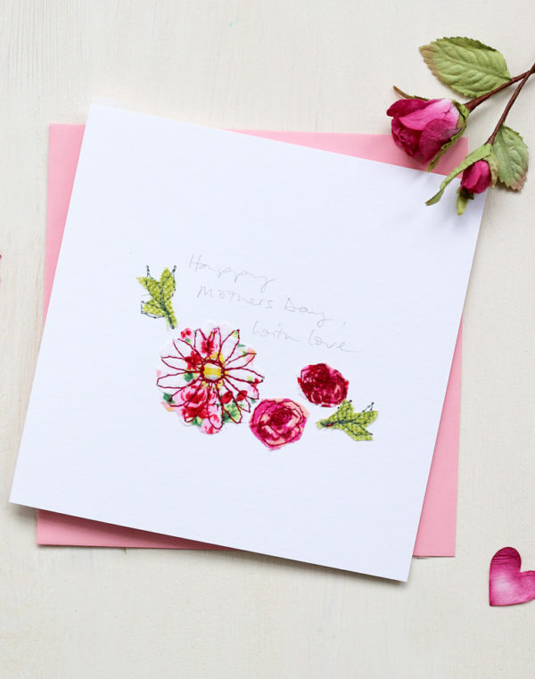 Flowers Mothers Day Card
