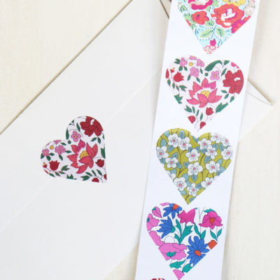 Floral Heart Stickers