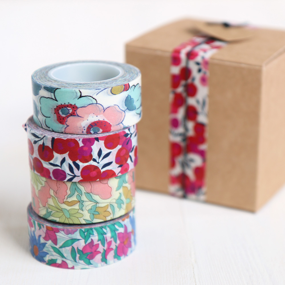 Liberty Print Washi Tape | Paper Tape for Craft & Decoration